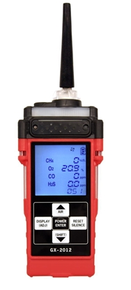 Picture of GX-2012 Five Sensor Sample Draw Confined Space Monitor